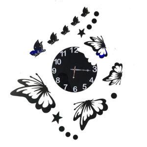 Big butterfly theme wall clock online