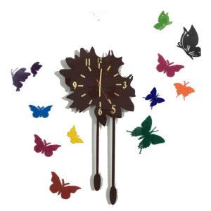 Butterfly theme wall clock online