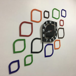 Almond theme wall clock online