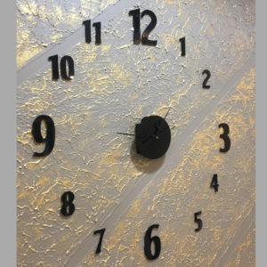 Black Theme Big wall clock online